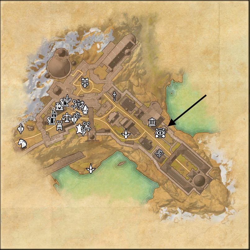 Mapa de Solitude, Anticuario
