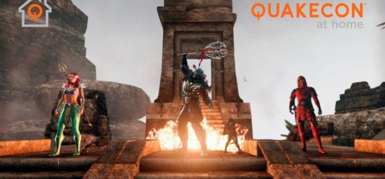 Te perdiste el concurso de apariencias en el QuakeCon?