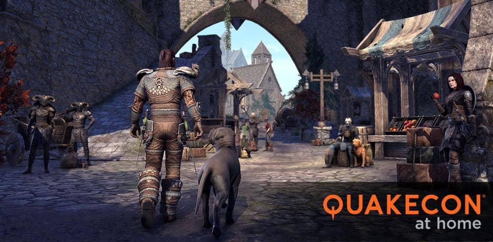 Juega durante la QuakeCon a Elder Scrolls Online y Descuentos del 50%