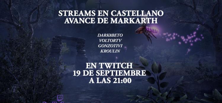 Re-Stream Preview de Markath, el corazón oscuro de skyrim