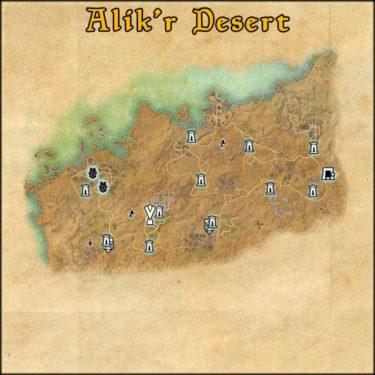 Alik'r Desert delve Divad's Chagrin Mine