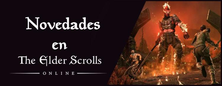 Novedades de Elder Scrolls Online